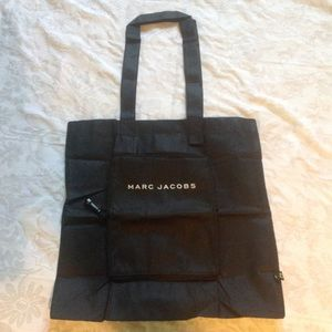 Marc Jacobs black Dust Shopping Bag Tote